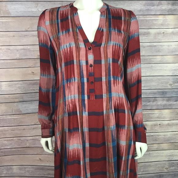 a58ac7cf3950 Anthropologie Dresses & Skirts - Anthropologie 11 1 Tylho Sao Paulo Plaid  Dress